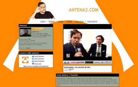 Antena3 youtube